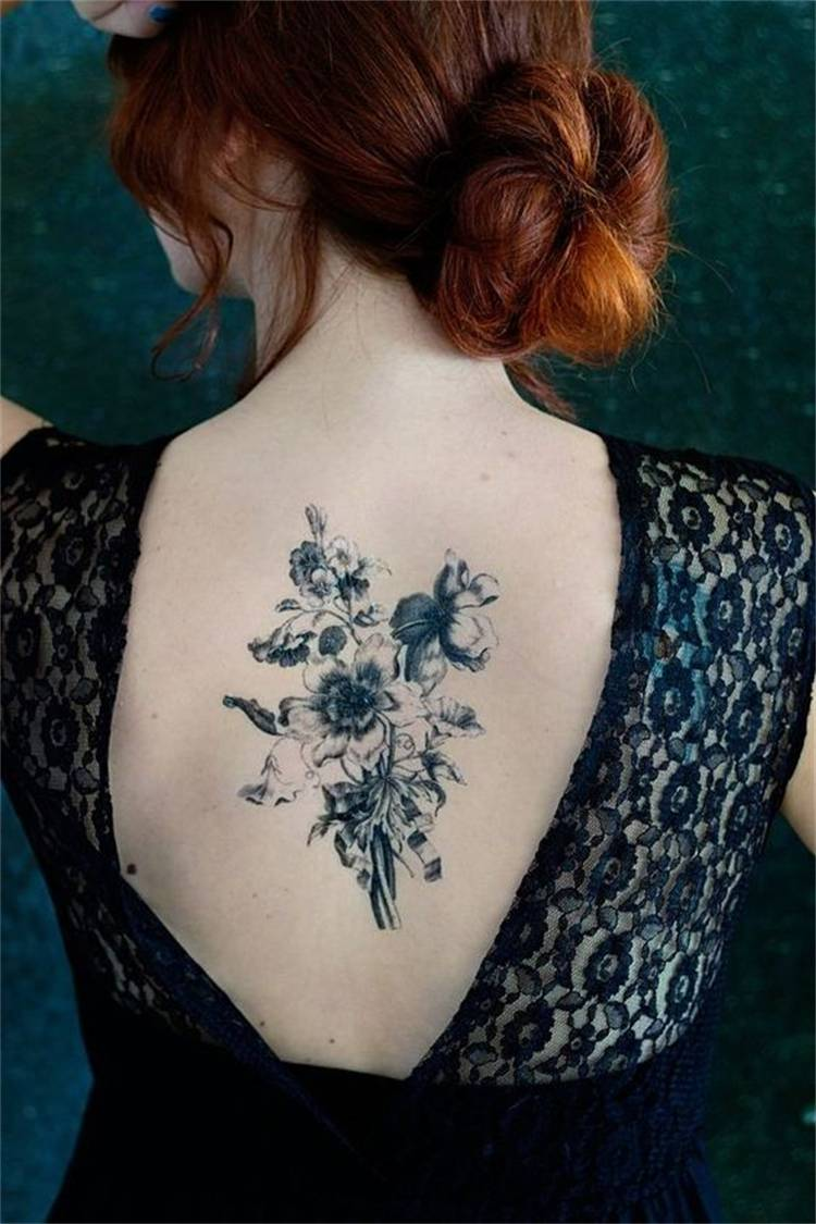 Gorgeous And Pretty Floral Tattoo Designs You Must Love; Floral Tattoo; Tattoo Design; Tattoo; Pretty Floral Tattoo; Tulip Tattoo; Lily Tattoo; Back Floral Tattoo; Flower Tattoo; Ankle Floral Tattoo; Finger Floral Tattoo #tattoo #tattoodesign #floraltattoo #rosetattoo #tuliptattoo #lilytattoo #anklefloraltattoo #fingerfloraltattoo #watercolortattoo #cherryblossomtattoo