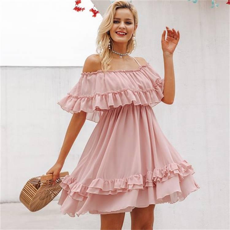 Gorgeous Summer Wedding Guest Dresses For You; Wedding Guest Dress; Guest Dress; Summer Dress; Dress; Off The Shoulder Dress; Floral Print Dress; Lace Dress; Short Dress; Wedding Dress; #summerweddingdress #summerdress #weddingguestdress #lacedres #shortdress #lacedress #floralprintdress