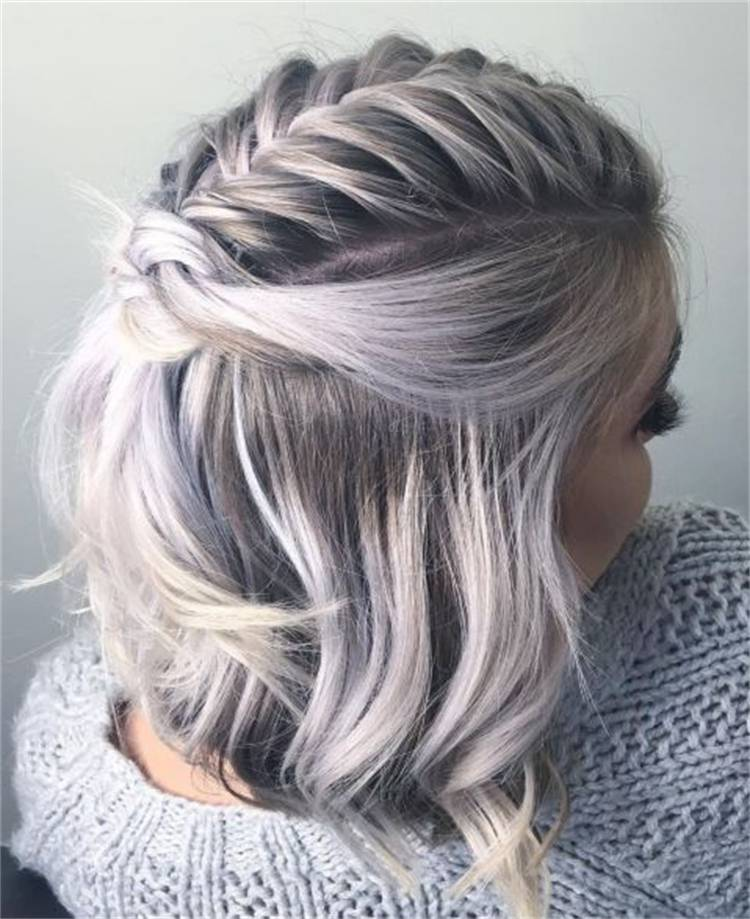 Pretty And Casual Hairstyles For Medium Length Hair; Hairstyle; Medium Hair; Hair Idea; Casual Hairstyle; Bob Hairstyle; Messy Hairstyle; Braided Hairstyle; Hairstyles With Bangs; Layered Bob Hairstyle; Wave Hairstyle; #hairstyle #hairidea #braidedhairstyle #hairstylewithbangs #messyhairstyle #casualhairstyle #bobhairstyle #layeredhairstyle #wavehairstyle