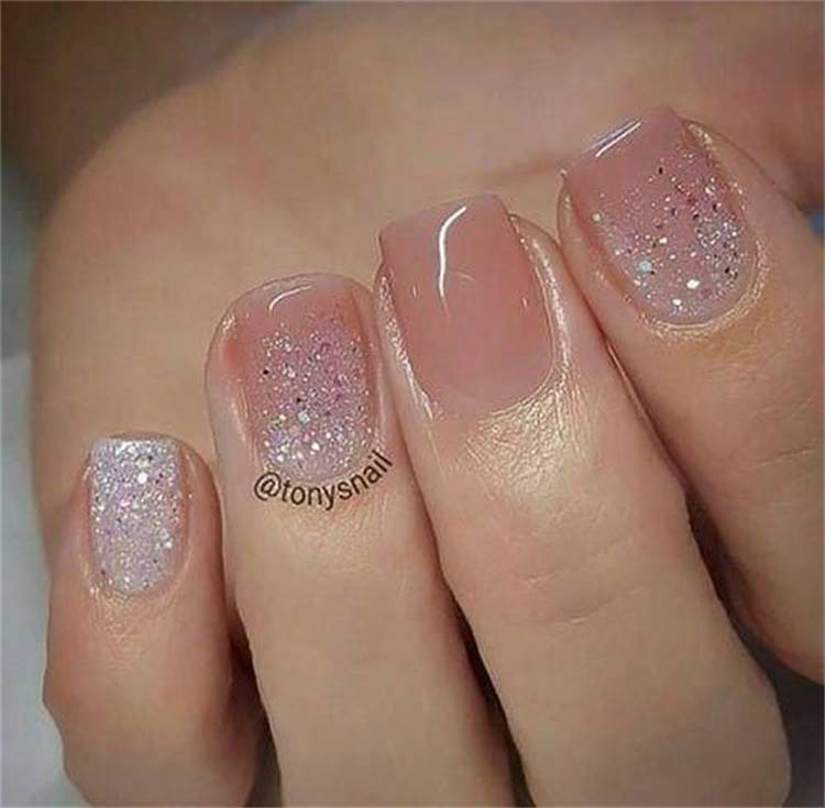 Gorgeous And Classic Nude Nail Designs To You; Nude Nail Design; Nail Design; Nude Sqaure Nail; Nude Coffin Nail; Nude Stiletto Nail; Glitter Nail; Rhinestone Nail; #nail #naildesign #nudenaildesign #nudesquarenail #nudecoffinnail #nudestilettonail #rhinestonenail #glitternail