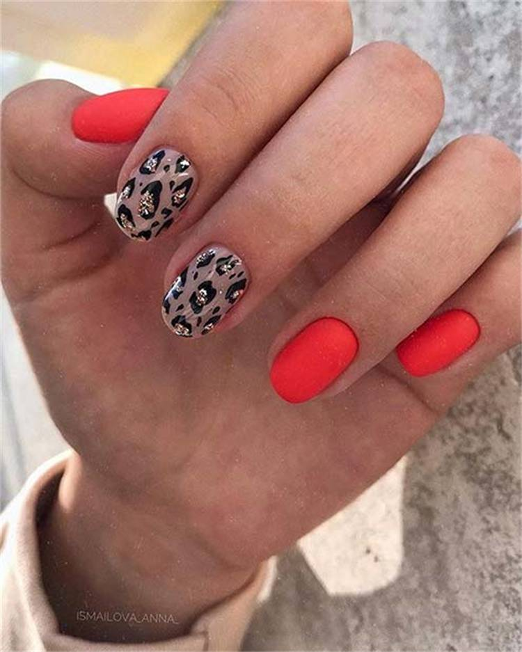Amazing Leopard Nail Designs To Make You Stylish; Leopard Nail Design; Leopard Nail; Nail; Nail Design; Stylish Nail; Short Square Leopard Nail; Coffin Leopard Nail; Stiletto Leopard Nail; #nail #naildesign #leopardnail #leopardnaildesign #squareleopardnail #coffinleopardnail #stilettoleopardnail