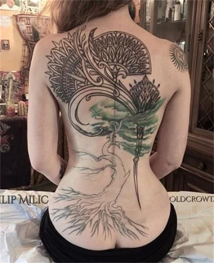 Sexy And Unique Tattoo Designs To Make You Stylish; Tattoo; Tattoo Design; High Thigh Tattoo; Back Tattoo; Rib Tattoo; Sexy Tattoo; #tattoo #tattoodesign #highthightattoo #backtattoo #ribtattoo #floraltattoo #thightattoo #rosetattoo