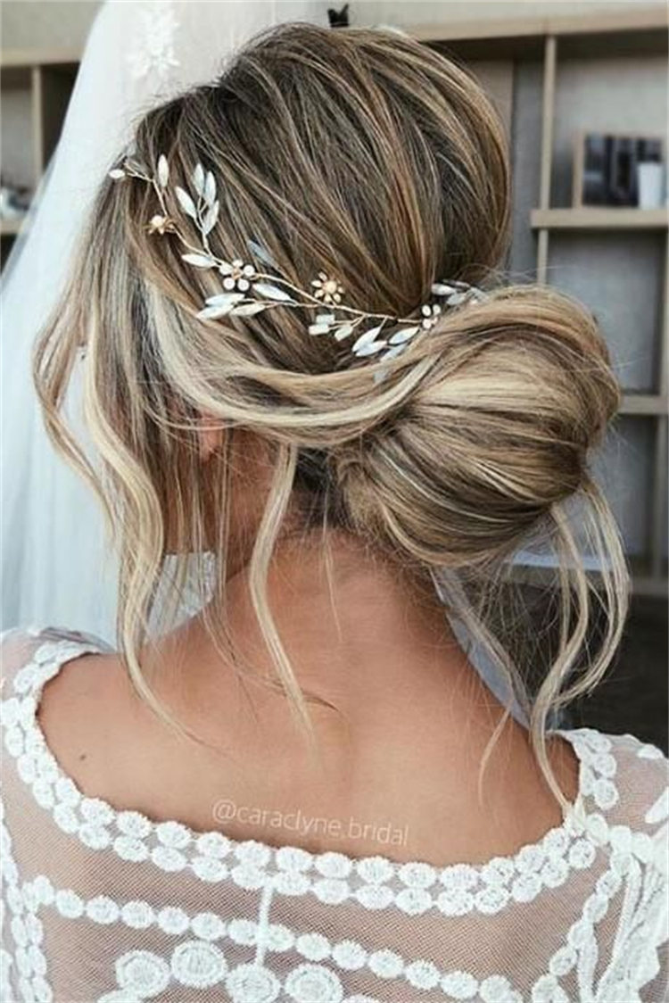 Gorgeous And Chic Updo Hairstyles For Your Inspiration; Hairstyles; Updo Hairstyles; Wedding Hairstyles; Chic Hairstyles; Bun Hairstyles; High Bun Updo Hairstyles; Low Updo Hairstyles; Braided Updo Hairstyles; #hairstyles #updo #updohairstyles #lowupdohairstyles #highbunupdohaistyles #braidedupdo #weddinghairstyles #chichairstyle