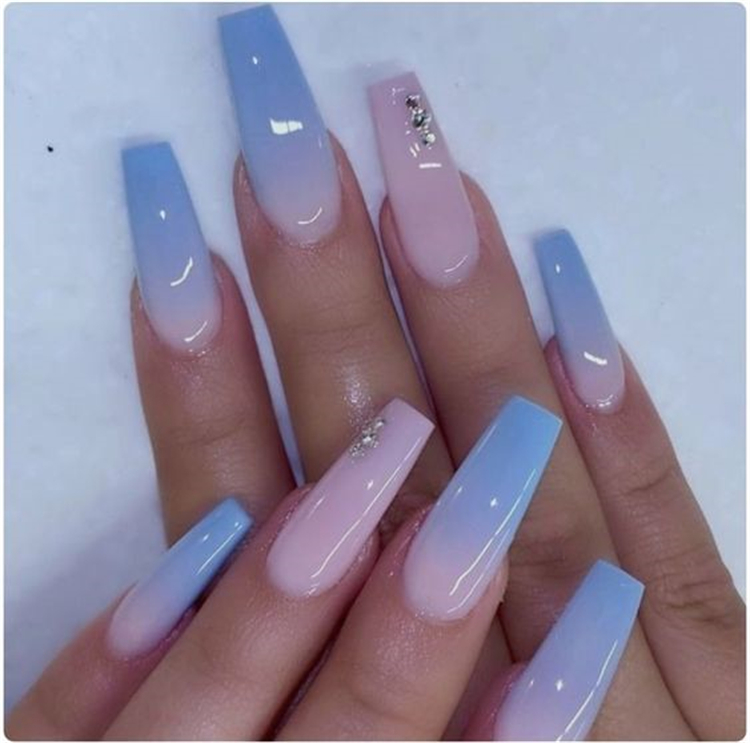 Gorgeous Ombre Nail Designs You Must Love To Try; Baby Boomer; Coffin Nails; Ombre Nails; Acrylic Nails; Ombre Acrylic Nails; Ombre Acrylic Square Nails Designs; French Fade Nails; Nude Ombre Nails; Colorful Ombre Nails; Stiletto Ombre Nails; #nailart #ombrenail #ombreacrylicnail #arcylicnails #coffinnails #stilettoombrenail #shortsquareombrenail