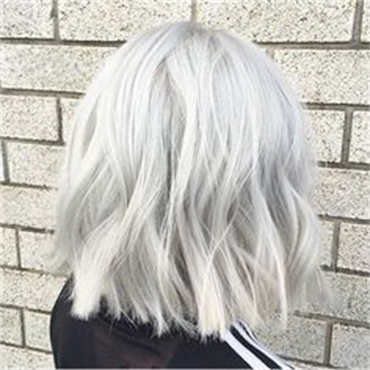 25 Amazing Silver Hair Color Hairstyles You Must Love To Try; Silve Hair; Silver Color; Platinum Hair; Hair Color; Ash Brown Hair; Hair; Hairstyles; Silver Ponytail; Silver Hairstyles; #silverhair #silverhaircolor #haircolor #silverhair #platinumhair #silverhairstyles