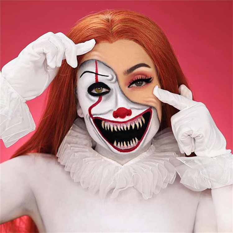 Horrible Halloween Makeup Ideas To Give You Inspiration; Halloween Makeup; Halloween; Pennywise Halloween Makeup; Doll Halloween Makeup; Cleopatra Halloween Makeup; Devil Halloween Makeup; Witch Halloween Makeup #halloween #halloweenmakeup #makeup #scarymakeup #witchmakeup #pennywisemakeup #devilmakeup #cleopatramakeup #dollmakeup